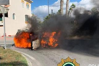 SAL Car Fire 2