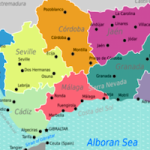 AND Map of Andalusian Provinces