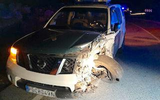 AXA Guardia Car Accident