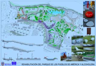 MOT Parque de las Americas Plan