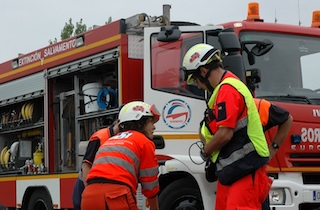 AND Bomberos fire service