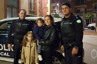 Local Police Save Young Girl