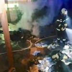 ALM Firemen putting out Velilla Fire
