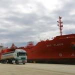 MOT ship carrying medical alcohol