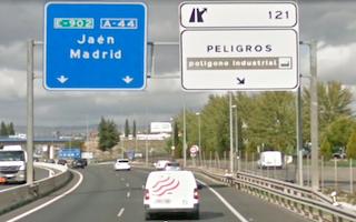 GRA A-44 Exit Peligros