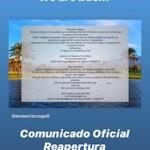 MOT Los Moriscos Reopens