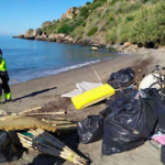 NRJ Illegal Camp sites - beach clear up