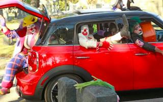 SPN Clowns in a Car