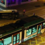 GRA Ambulance Collides with Tram
