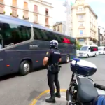 GRA Coach Protest in Granada