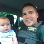 GRA Guardia Civil Saves Baby