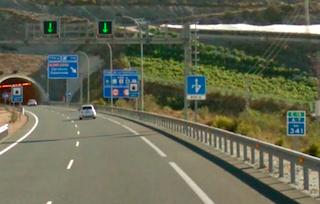 MOT A-7 KM341 Fuentecilla Tunnel Above Carchuna