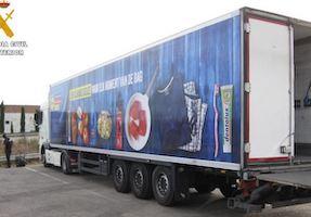 SPN Belgian Lorry Stolen