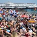 SPN Brits on Brighton Beach