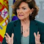 SPN Minister Carmen Calvo