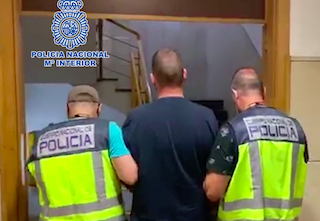 AND Brit Fugitive Arrested in Fuengirola JL20