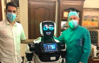 AXA Robot in an Eye Clinic