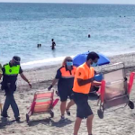 AXA Torrox Beach Brolly Confiscation JL20