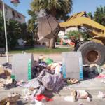 MOT Rubbish down Port Housing