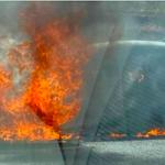 GRA Car in Flames A-44 Niguelas AG20 01