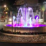 LHR Beach Roundabout Fountain