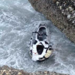 NRJ wrecked on the rocks jet ski OnL
