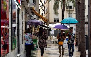 ALM Streets with Umbrellas