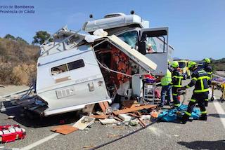 AND Camper Van Fatal Collision