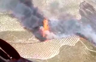 GRA Arenas del Rey fire SP20