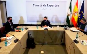 AND Juanma Moreno PM experts committee