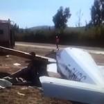 AXA Light Aircraft Accident Aerodrome Axarquia3