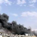GRA Padul Scrapyard Fire 04