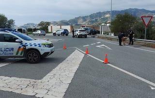 ALM Barrio San Juan Junction Road Checkpoint