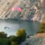 AXA Paragliders over Acantillados Maro Park