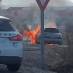 GRA A-44 Padul car fire