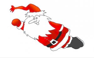 GRA Flying Santa