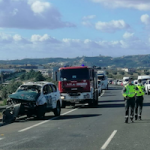 MOT Police Car Rammed