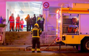 AND Patient Sets Fire to Hospital