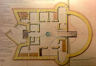 LHR Old Plan of the Fort