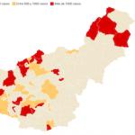 GRA Covid Map 22AP21