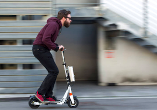 GRA Electric Scooter Fines