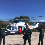 GRA Rescue Helicopter & Guardia officers