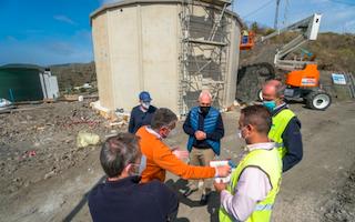 NRJ Punta Lara Municipal Water Tank