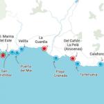 COS Banderas Azul Map