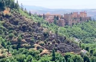 GRA Fire next to Alhambra