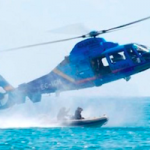 AND Helicopter Customs Aduanera