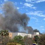 MOT Fire in Police Station
