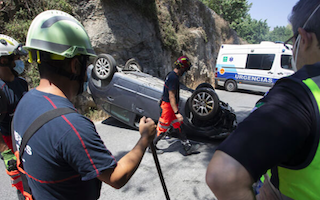 MOT Road Accident Candelon JL21