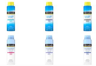 SPN Suntan lotions recalled