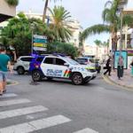 ALM Policia Local on Paseo del Altillo AG21+
